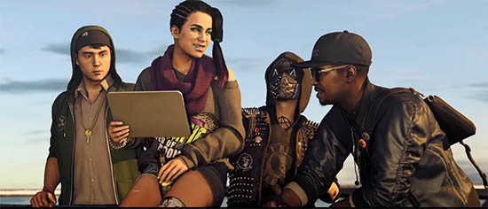 Watch Dogs 2 Characters
