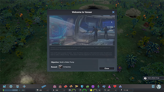 Aven Colony Interface
