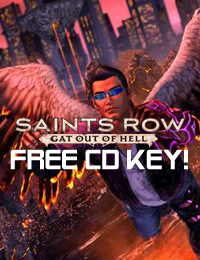 Allkeyshop Giveaway | Saints Row Gat Out of Hell Free CD Key