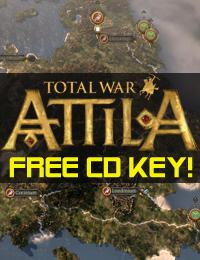 Allkeyshop Giveaway | Total War Attila Free CD Key