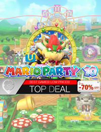 Top Deal | Mario Party 10 Nintendo Wii U
