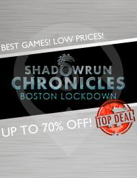 Top Deal | Shadowrun Chronicles: Boston Lockdown