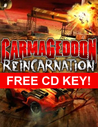 Allkeyshop Giveaway | Carmageddon Reincarnation Free CD Key