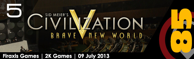 Top PC 10 Strategy Games: Sid Meier's Civilization V: Brave New World