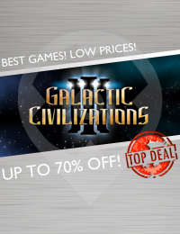 Top Deal | Galactic Civilizations 3