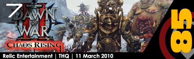 Top PC 10 Strategy Games: Warhammer 40,000: Dawn of War 2 - Chaos Rising