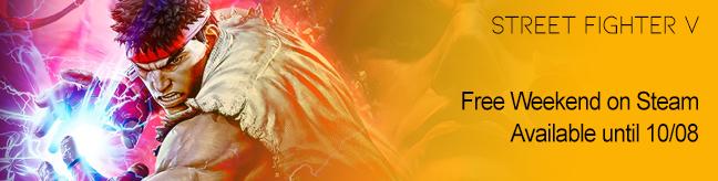 Street Fighter V Free on Steam