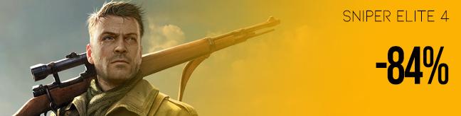 Sniper Elite 4 discount