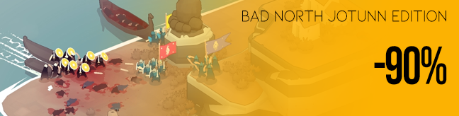 Bad North Jotunn Edition discount