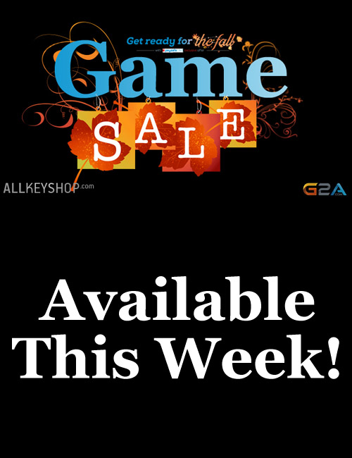 G2A.com Game Sale | Get Ready for the Fall