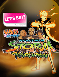 LET'S BUY: Naruto Shippuden Ultimate Ninja Storm Revolution