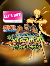 LET'S BUY: Naruto Shippuden Ultimate Ninja Storm Revolution