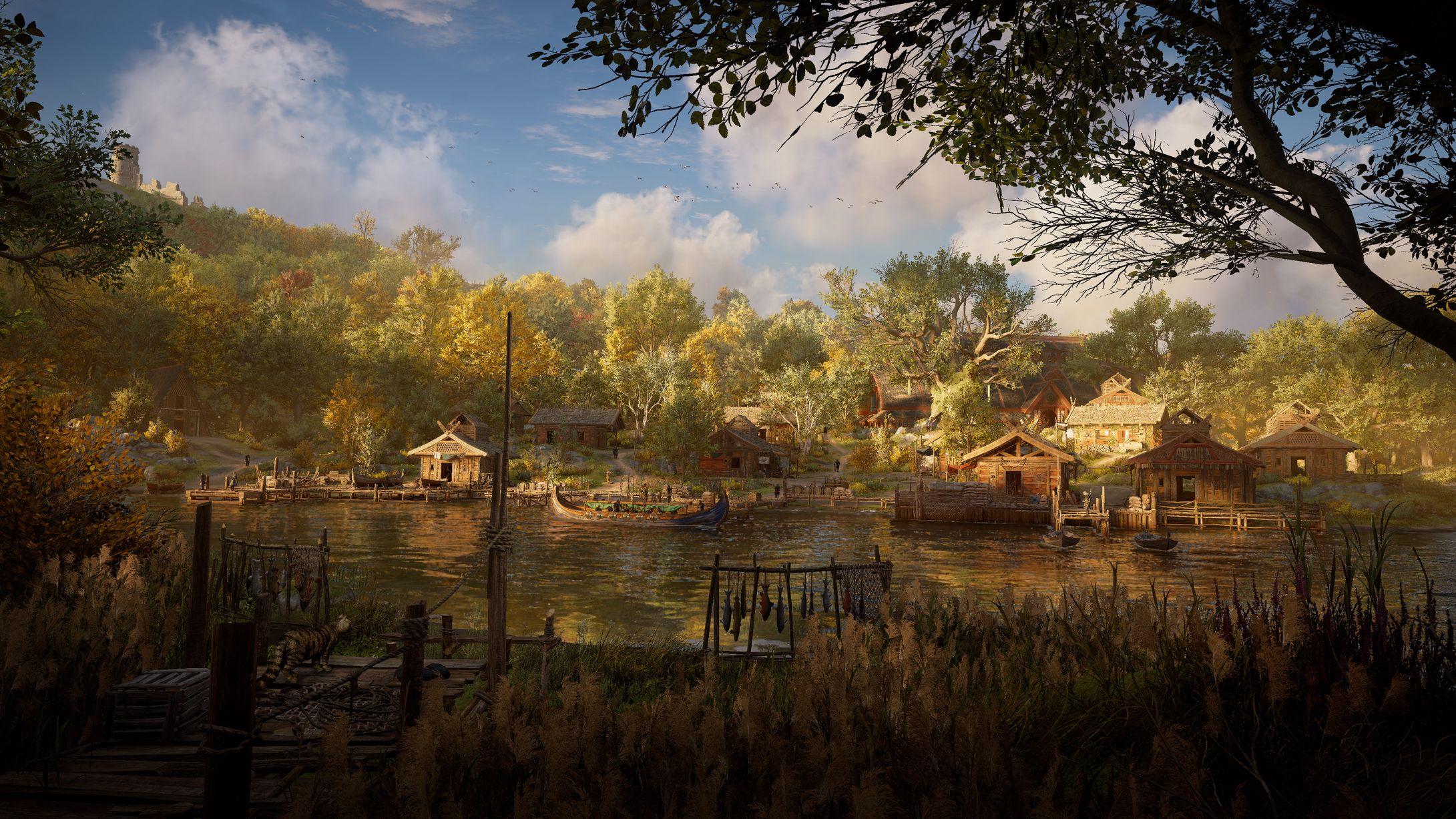 Assassin's Creed Valhalla World