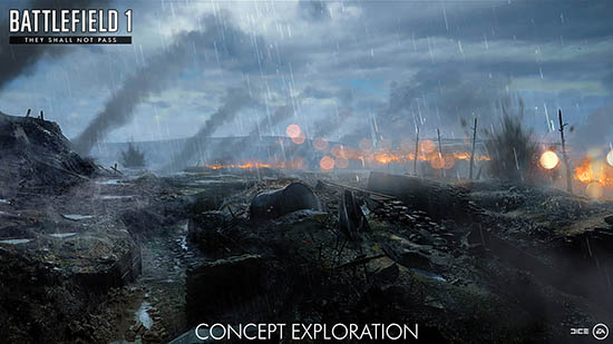 Battlefield 1 Concept Exploration