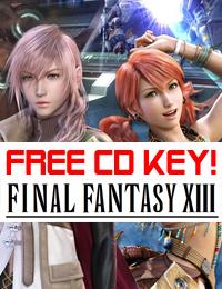Allkeyshop Giveaway | Final Fantasy 13 Free CD Key