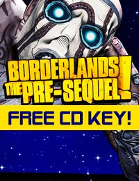 Allkeyshop Giveaway  Borderlands: The Pre-Sequel Free CD Key