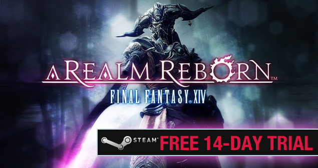 steam final fantasy xiv free trial