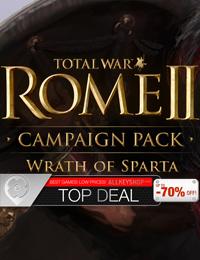 Top Deal | Total War Rome 2: Wrath of Sparta