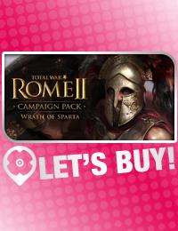 Let's Buy! | Total War Rome 2 Wrath of Sparta CD Key