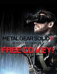 Allkeyshop Giveaway | Metal Gear Solid 5 Ground Zeroes Free CD Key