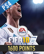 1600 Points FIFA 18
