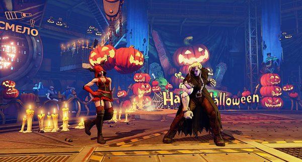 Street Fighter 5 Characters Get Halloween Costumes 1