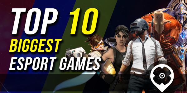 Top 10 Most biggest and Popular eSports Games