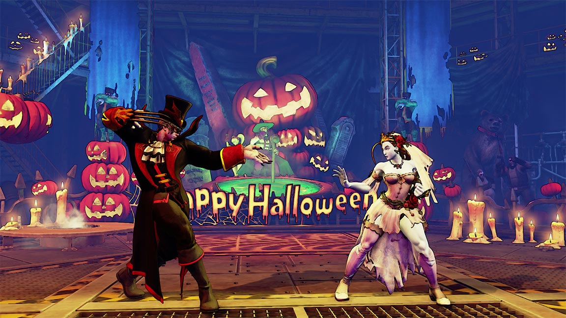Street Fighter 5 Characters Get Halloween Costumes 4