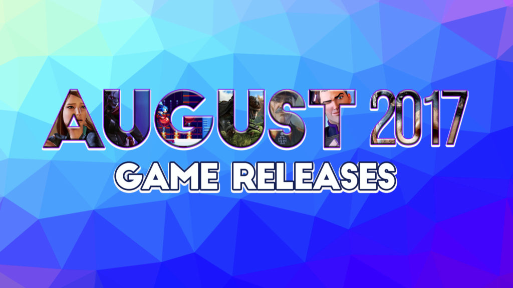 New Slot Releases August 2017