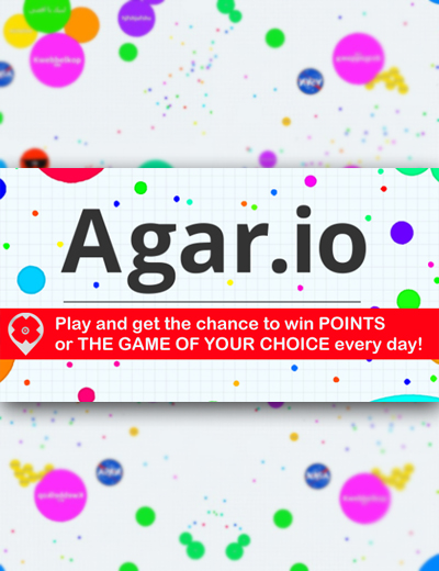 Agario: Win Points and the Game of Your Choice Every Day!