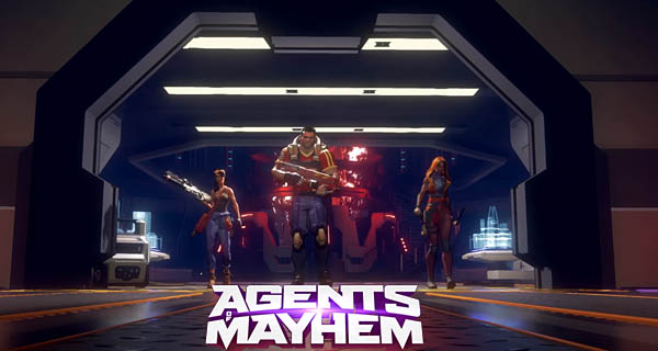 Agents of Mayhem Trailer Cover