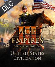 Age of Empires 3 Definitive Edition United States Civilization