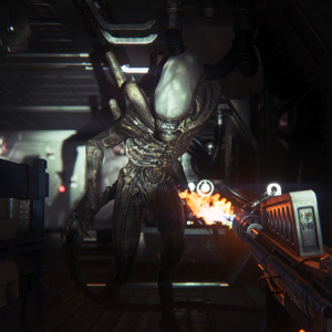Alien Isolation PS4 Gameplay