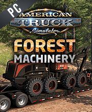 American Truck Simulator Forest Machinery