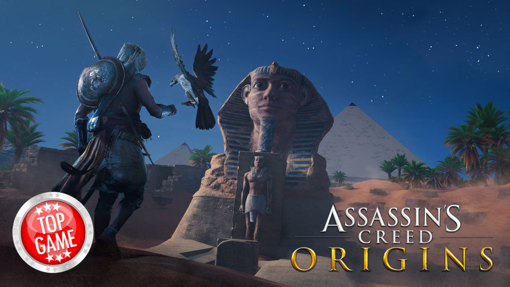 Assassin's Creed Origins Free Discovery Tour Cover