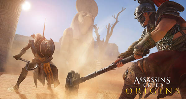Assassin's Creed Origins Connected Features Cover