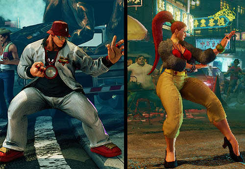 Street Fighter V b-boy-and-b-girl-outfits