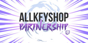 Allkeyshop partnership for Twitch