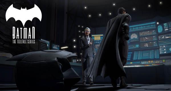 Batman The Telltale Series Cover
