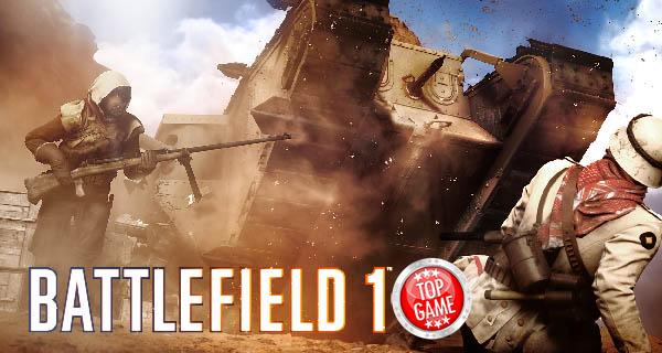 Battlefield 1 Sinai Desert Map Cover