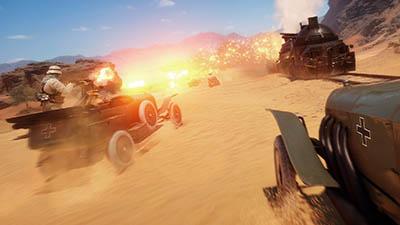 Battlefield 1 Sinai Map