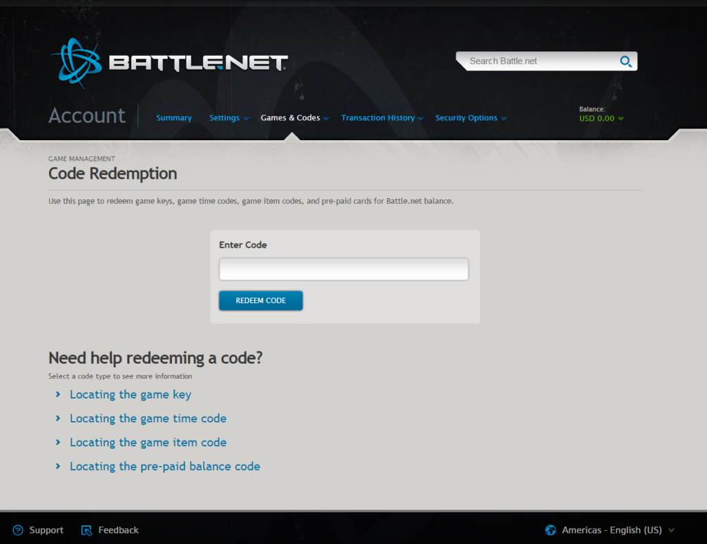Battle.net Cd Key Activation