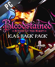 Bloodstained Ritual of the Night Iga's Back Pack