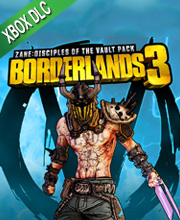 Borderlands 3 Multiverse Disciples of the Vault Zane Cosmetic Pack