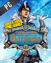 Borderlands The Pre-Sequel Lady Hammerlock The Baroness