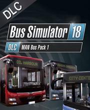 Bus Simulator 18 MAN Bus Pack 1