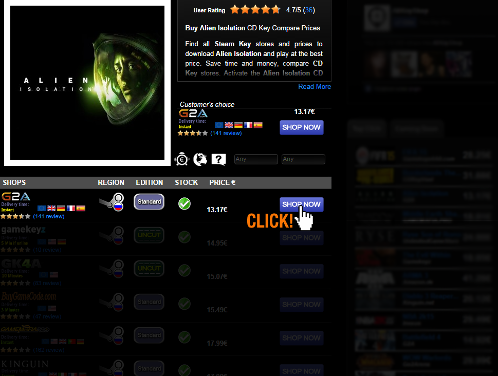 Buy Alien Isolation CD KEY Compare Prices