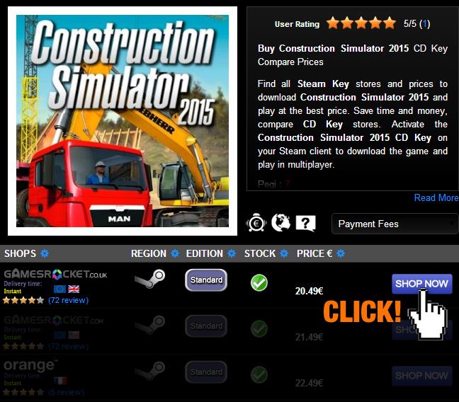 construction simulator 2015 product key free