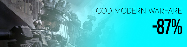 Best discount for Call of Duty Modern Warfare CD key