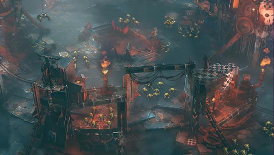Dawn Of War 3 Cage World